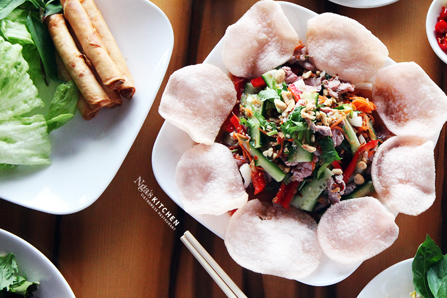 "Beef ""Bo Tai Chanh"" Salad"
