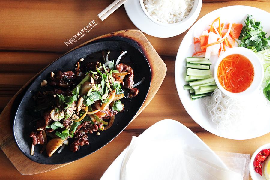 DIY Vietnamese Sizzling Beef + Rice Paper